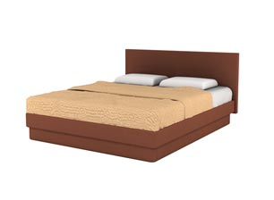 Кровать Торис ЮМА D1 (Борго)