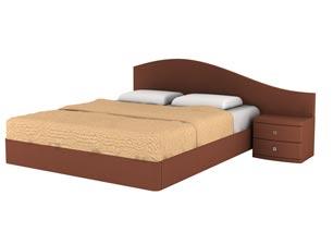 Кровать Торис МАТИ D4 (Бенар) правый