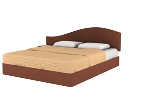 Кровать Торис МАТИ D4 (Бенар) левый