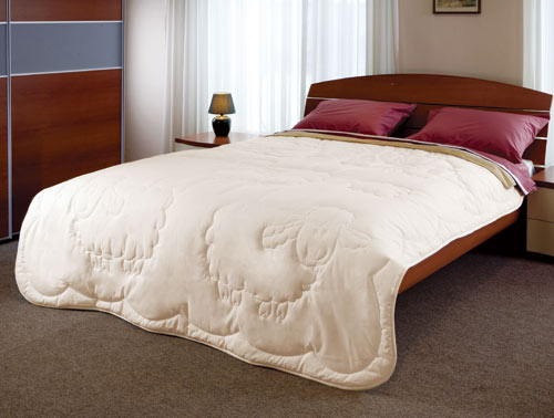 Одеяло шерстяное Dolly - Петербург